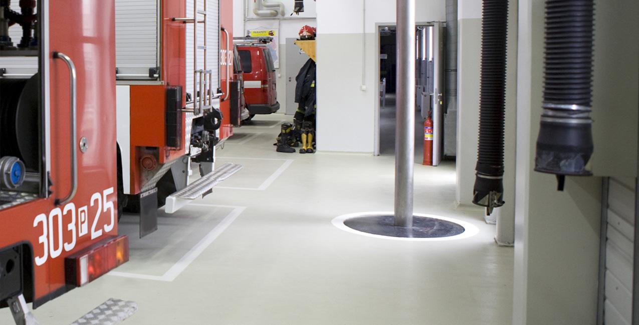 Fire Resistant Food Service Flooring